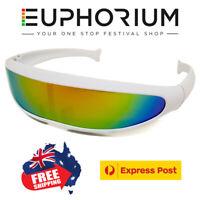 Orange Details about  /Euphorium Neon LED Glasses Grill Sunglasses Rave EDM Mafia Paradigm AUS