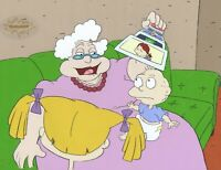 RUGRATS Production Cel Cell Original Animation Art Nickelodeon Grandma 1990s