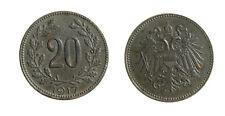 pci6887)  Österreich, Kaiser Karl I. 1916-1918, 20 Heller 1917 FERRO