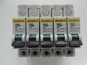 SQUARE D SQO Range 6A 10A 16A 20A 32A Type B MCB Circuit Breaker BSEN60898