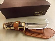 Schrade Knives Uncle Henry Pro Hunter Fixed Blade Knife 171UH USA made - in box