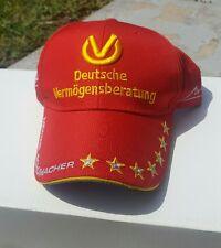 RED F1 FORMULA 1  MICHAEL SCHUMACHER BASEBALL HAT CAP stars racing Germany