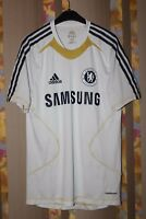 CHELSEA LONDON TRAINING FOOTBALL SHIRT JERSEY PLAYER ISSUE FORMOTION ADIDAS