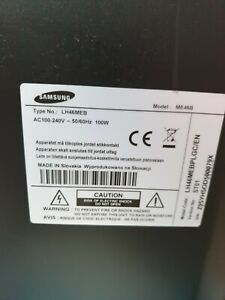 Samsung me46b  LCD Full HD Display Screen Monitor with touchscreen overlay