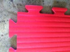 TATAMI AD INCASTRO 100x100x3 rosso/nero qualita' top densita pro € 24,99 MIN 5