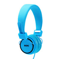 Hyper Blue HEADPHONES Adjustable Headband Padded Ear Cups Girls/Boys