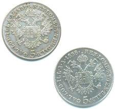 Österreich-RDR, Ferdinand I., Lot v. 2 Silbermünzen ab 1838