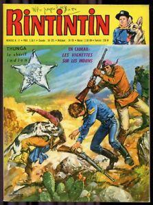 Rintintin # 17 (1971) + Vignettes Indiens Non Détachées