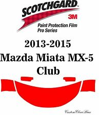 3M Scotchgard Paint Protection Film Pro Series 2013 - 2015 Mazda Miata MX-5 Club