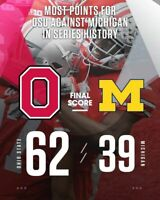 OSU vs Michigan  - Most Points scored against in History Magnet
