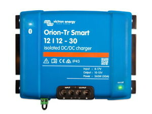 Victron Orion-Tr Smart 12/12 30A Isolated DC-DC Battery to Battery Charger