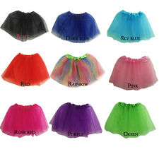 Adult/KID/Girl Dance Tutu Ballet Pettiskirt Princess Party Skirt Hip 15-46 Inch