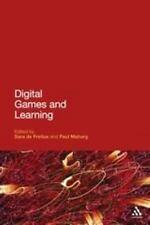 Digital Games and Learning by Sara de Freitas (2011, UK-Paperback)