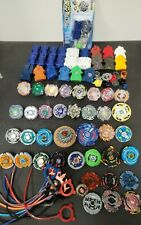 Lot of Beyblades Launchers Spinners Metal Plastic Hasbro