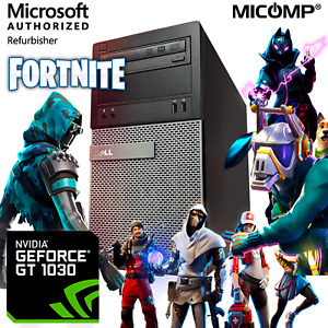 Dell Gaming Computer Nvidia GT 1030 16GB RAM 500GB RAM Core i5 Win 10 Tower Pc