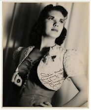 1940s SIGNED PHOTO Photograph AUTO AUTOGRAPH Gerri SINGER Hollywood MODEL Celeb