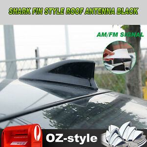 Auto Decor Antenna Shark Fin Style Base Radio Signal Aerial For Honda Jazz Fit