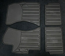 2008-2014 WRX STI Genuine Subaru All weather Heavy gauge Rubber floor mats Black