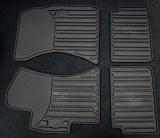 2008-2011 Impreza Genuine Subaru All weather Heavy gauge Rubber floor mats Black