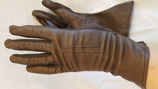 Brown Leather stretch palm XS 6 gloves