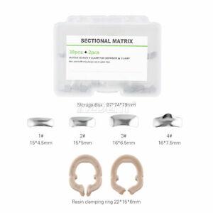 Dental Matrix Bands Sectional Contoured Metal Matrice Matrix Refill Autoclavable