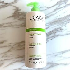 URIAGE Eau Thermale Hyseac Cleansing Gel Face - Body 500ml New