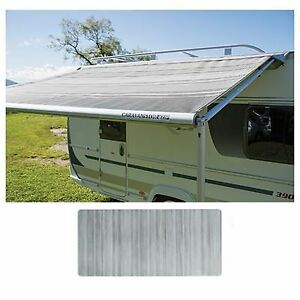 Fiamma Caravanstore Zip Top XL 440 Canopy Royal Grey Fabric Caravan 06771G02R