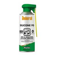 Ambersil 400ml Silicone FG Food Safe NSF H1 Aerosol Spray Lubricant