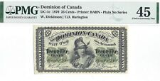 Dominion of Canada 1870 Shinplaster, DC-1c, PMG EF-45!