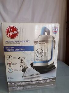 (Q) Hoover Powerdash Go Pet Portable Carpet&Upholstery Cleaner FH13000