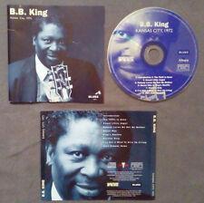 CD B.B.King Kansas City,1972 BLUES PIANO BLUES R&B SOUL no lp mc dvd PROMO(ST1)