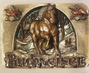 Buckle Gürtelschliesse/ Budweiser / Bergamot / USA  1990