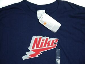 Vintage 00s Nike T shirt Long Sleeve NWT NOS Deadstock Mens XL y2k 2003 Spellout