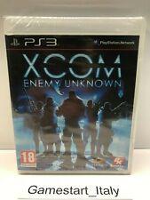XCOM ENEMY UNKNOWN - SONY PS3 - GIOCO NUOVO SIGILLATO PAL - NEW SEALED