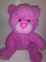 "Loves Loveables Pink Bear  13"" Plush Stuffed Animal"