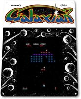 Galaxian Classic Bally Midway Arcade Marquee Game Room Wall Decor Metal Tin Sign