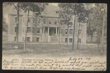 1906 Postcard Defiance Oh/Ohio College Campus Dormitory Building