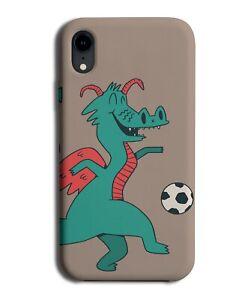 Footballing Dragon Phone Case Cover Dragons Footballer Football Player Ball M762