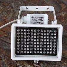 12V 96 LED Night Vision IR Infrared Illuminator Light Lamp for CCTV Camera White