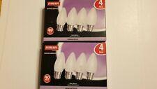 Candle bulbs  40watt x 8 new.