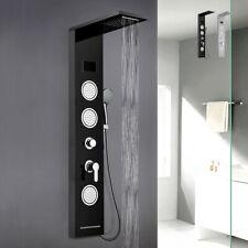 Pannello colonna doccia in acciaio con miscelatore cascata idromassaggio display