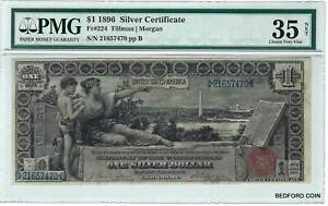 PMG CHOICE VERY FINE 35 1899 $1 EDUCATIONAL NOTE SILVER CERTIFICATE FR. # 224