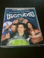Scrubs - The Complete First Season (DVD, 2005, 3-Disc Set) like new watched once