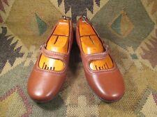 Clark's Artisan Ordell Becca Tan Leather Mary Jane flats Tan size USA -11M