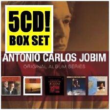 ANTONIO CARLOS JOBIM 5CD NEW Wonderful World/Love Strings/Certain/Urubu/Terra