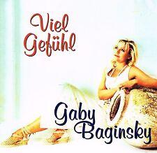 (CD) Gaby Baginsky - Viel Gefühl - Copacabana Die Sonne Und Du, Männer, u.a.