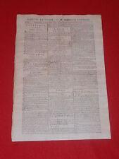 JOURNAL GAZETTE NATIONALE OU LE MONITEUR UNIVERSEL N° 300 VEND 26 OCTOBRE 1792