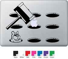 Smash The Apple - Decal for Mac Book or Ipad