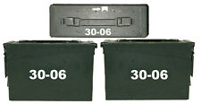 """.30-06 ammo box( DECALS) two 3.5""""x 1.5"""" one 2""""x0.75"""" NO BOX INCLUDED"""