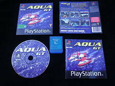 LOT CARTE MEMOIRE + JEU Sony PLAYSTATION PS1 : AQUA GT (complet, envoi suivi)